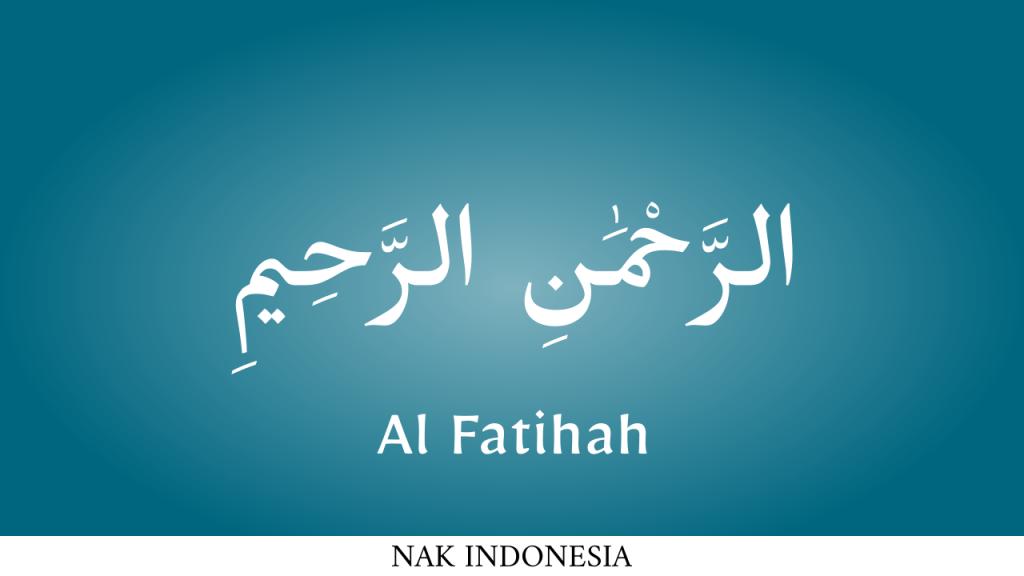 ar rahman al fatihah