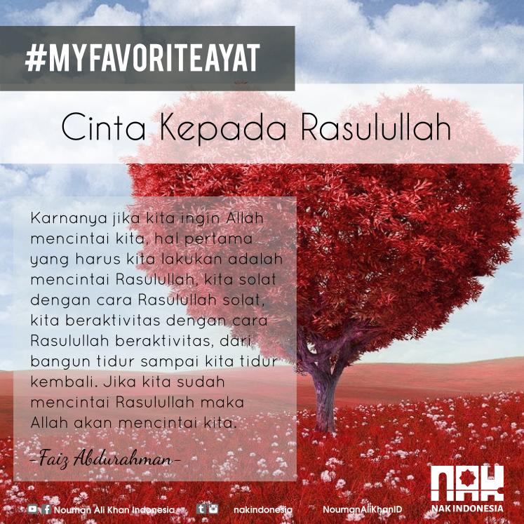 Mfa 10 Cinta Kepada Rasulullah Nouman Ali Khan Indonesia
