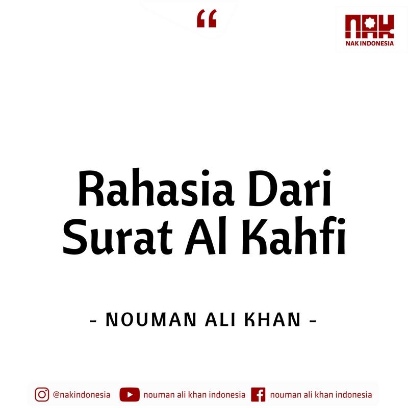 Rahasia Dari Surat Al Kahfi