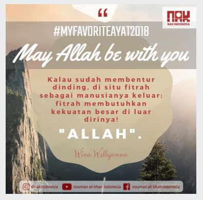 [MFA2018] May Allah Be With You - Wina Wellyanna