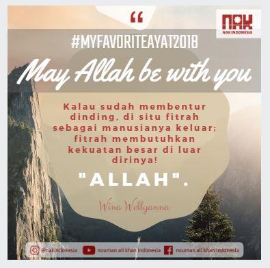 [MFA2018] May Allah Be With You - Wina Wellyanna