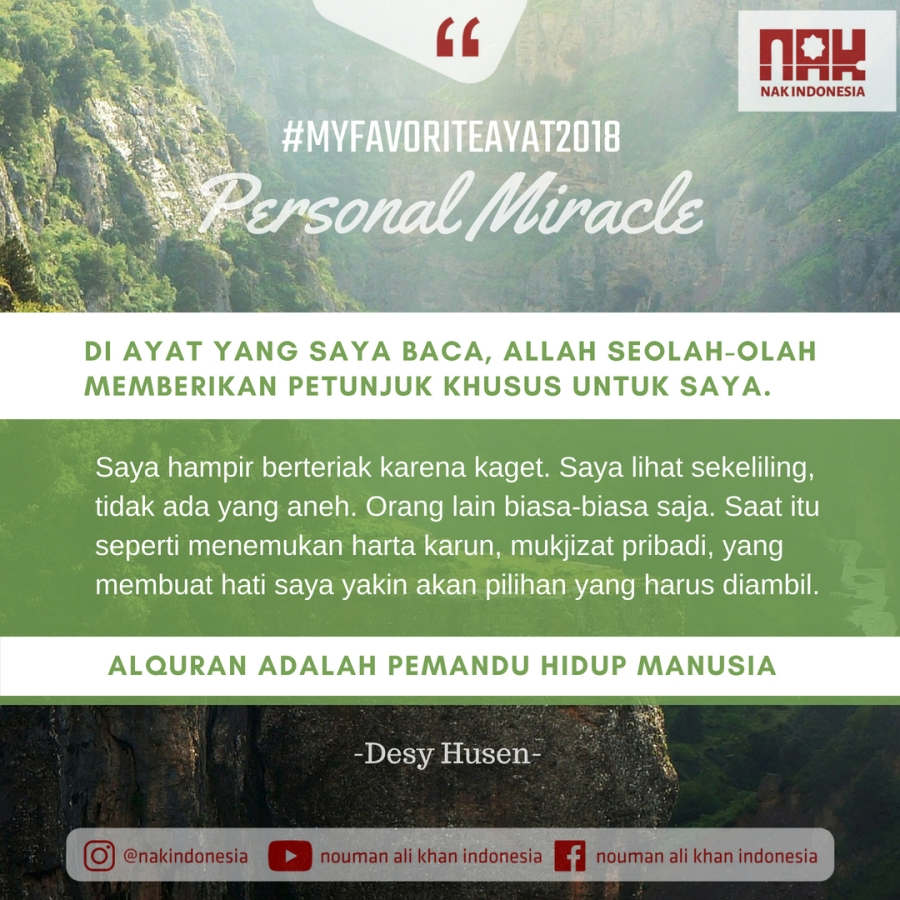 MFA2018 - Personal Miracle-