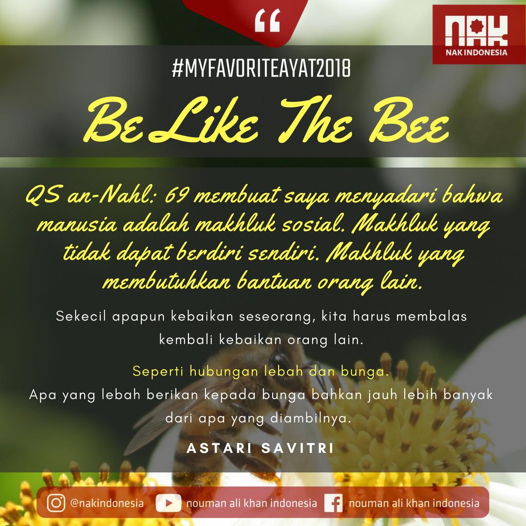 MFA2018 - Be Like The Bee