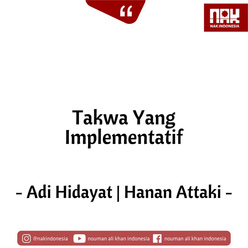 Takwa Yang Implementatif